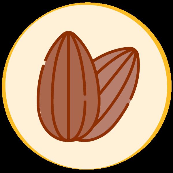 Contiene frutta a guscio